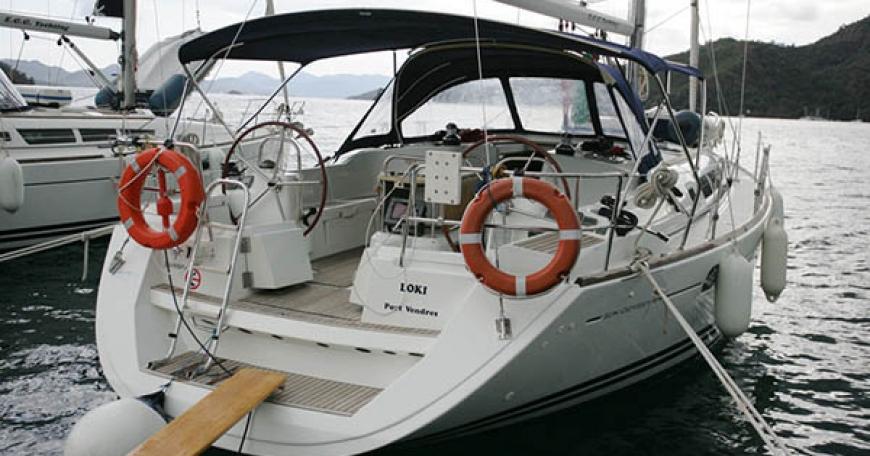 Sun Odyssey 44i (порт Геджек)