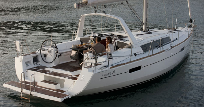 Oceanis 41 (port Gocek)