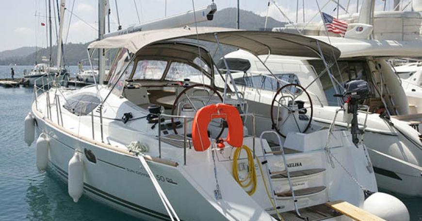 Sun Odyssey 50 DS (puerto Gocek)