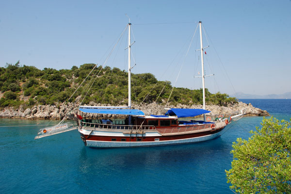 Turchia caicco crociera