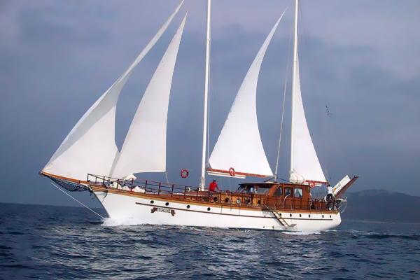 barco de Bodrum