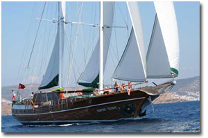 Turkey crewed yacht charter
