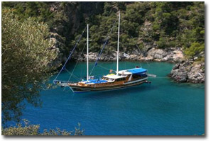 Yacht charters in Turkey
