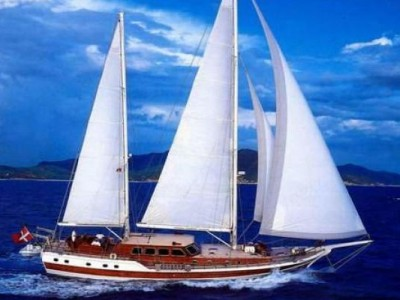 Caicco crociera itinerario sulla costa Mediterranea Turco