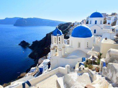 Blue Cruise to a Greek Island, Santorini - 2