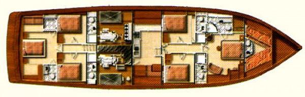 S. DOGU План яхты