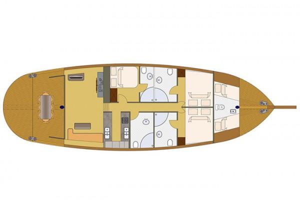 KARIA План яхты
