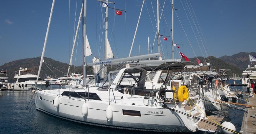 Oceanis 41.1 (port Gocek)