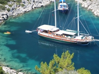 La croisière en bateau avec équipage